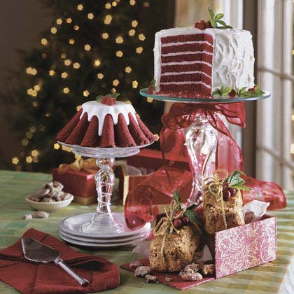 Chocolate-Red Velvet Layer Cake Recipe