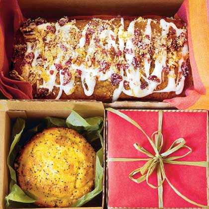 Cranberry-Pecan Cake Batter