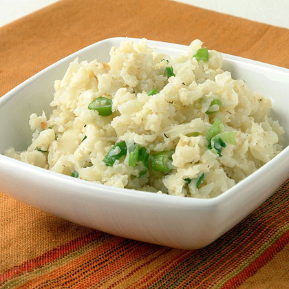 Cauliflower and Green Onion Mash