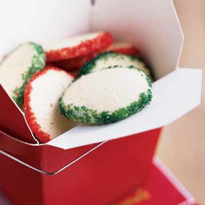 Sugared Vanilla Cookies