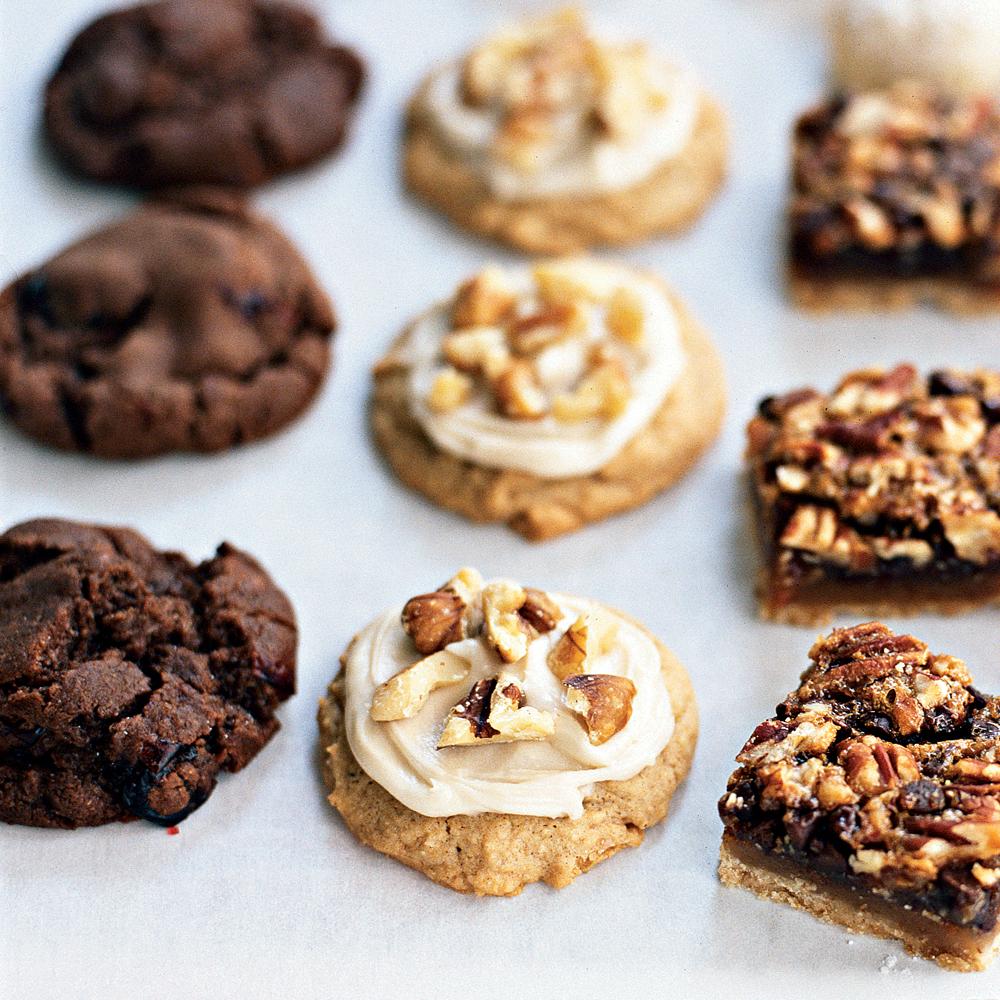 Maple-Walnut Spice Cookies
