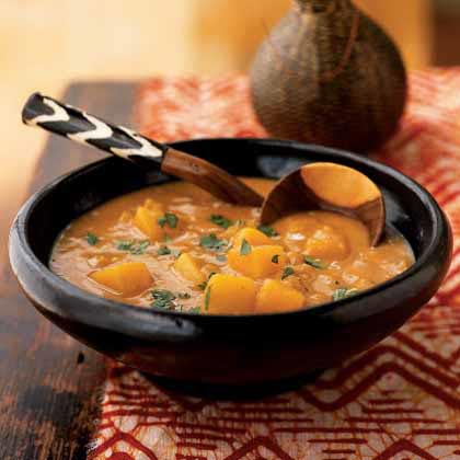 Peanut and Squash Soup