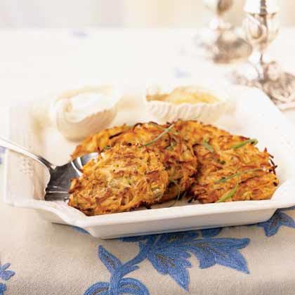 Two-Potato LatkesRecipe