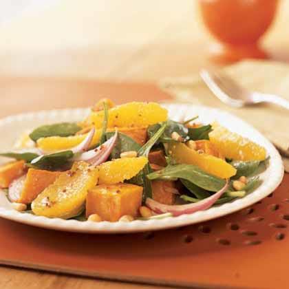 Roasted Sweet Potato and Orange Salad