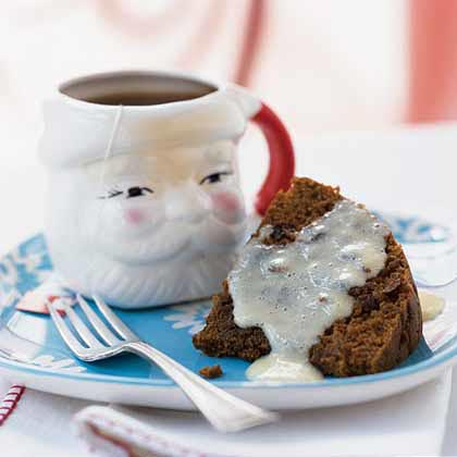 Steamed Pudding with Lemon Sauce Recipe