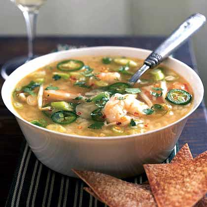<p>Spicy Shrimp and Rice Soup</p>