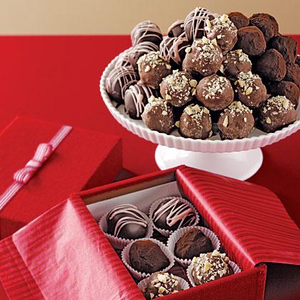 Hazelnut Truffles