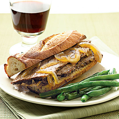 Roast Beef French Dip Sandwiches Recipe | MyRecipes