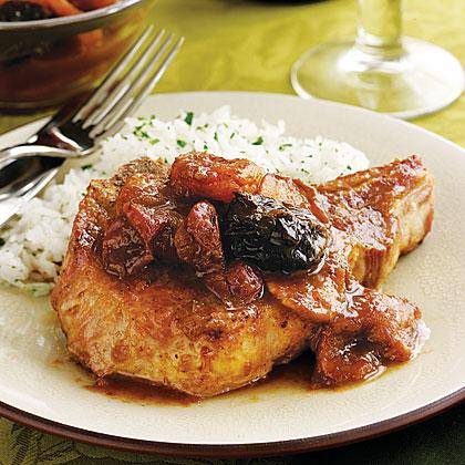 Fruity Pork ChopsRecipe