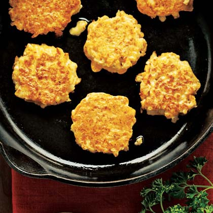 Cauliflower Fritters