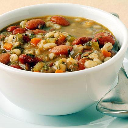 Bean and Barley SoupRecipe
