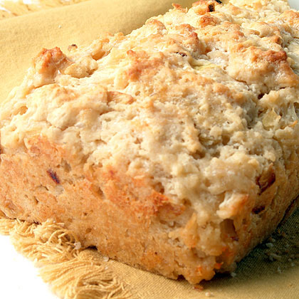 Onion and Fontina Beer Batter Bread Recipe