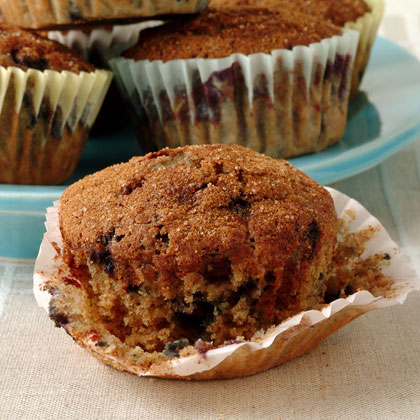 Blueberry Oatmeal Muffins Recipe - 1 | MyRecipes