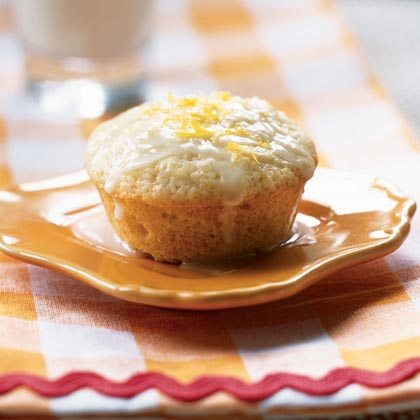 Lemon-Scented Olive Oil Muffins