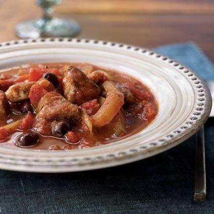 Provençal Pork Stew with Olives and Fennel