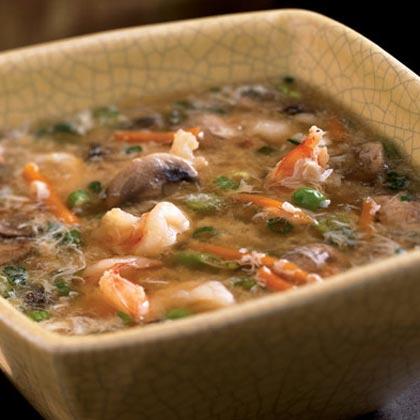 Shrimp and Egg Flower Soup