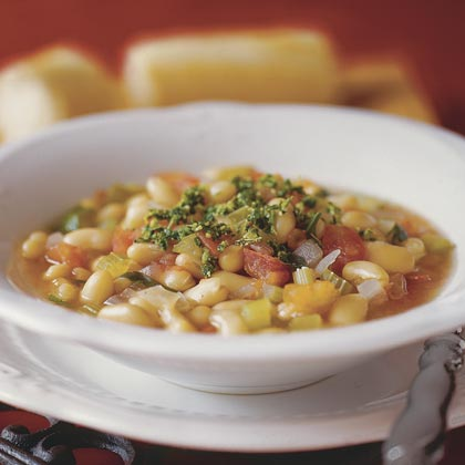 White Bean Soup With Gremolata Recipe | MyRecipes