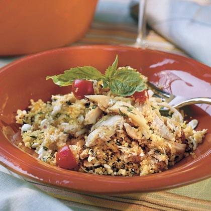 Mediterranean Chicken Couscous