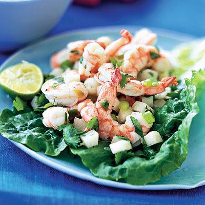 <p>Shrimp Ceviche Salad</p>
