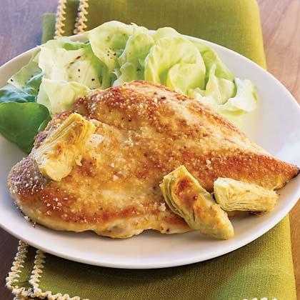 Lemon-Artichoke Chicken