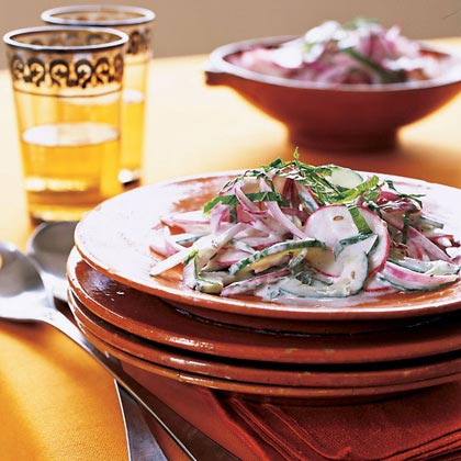 Cumin-Mint Raita SaladRecipe