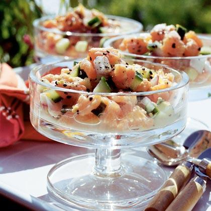 Seviche de Salmon Recipe