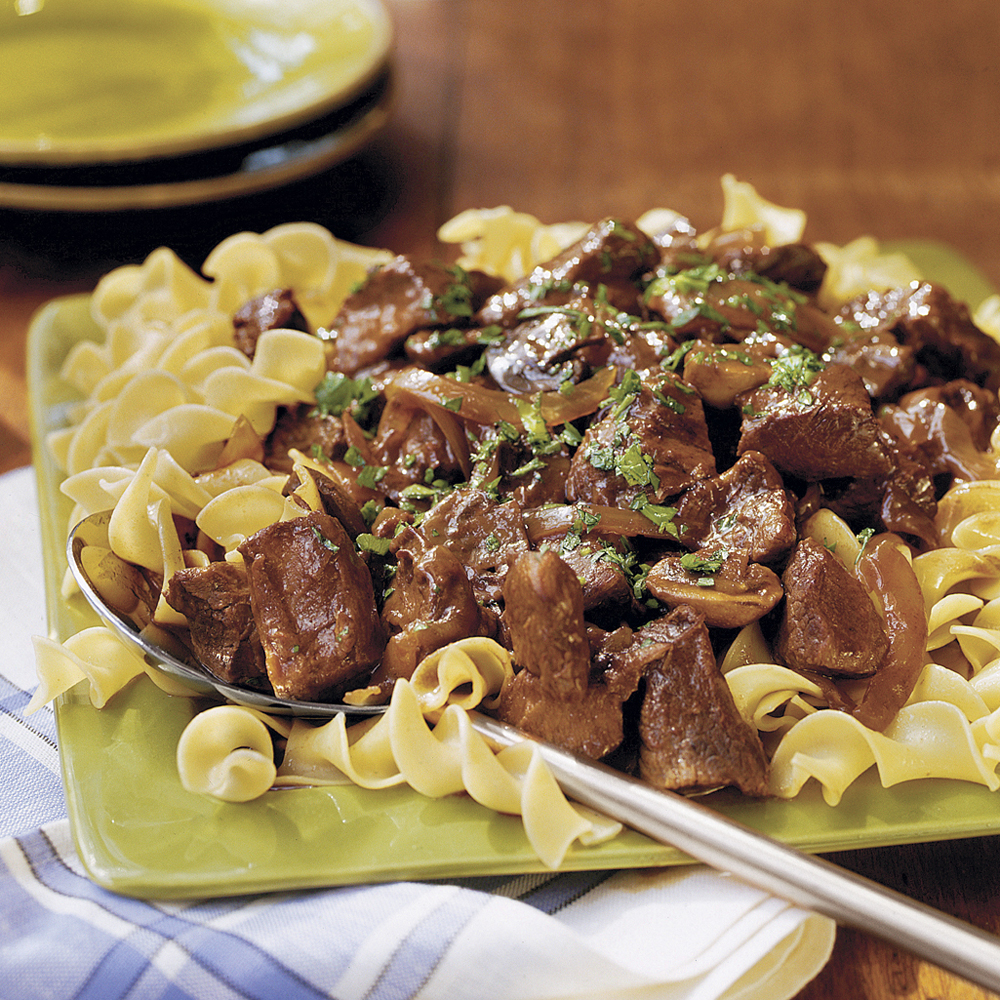 Beef With Red Wine SauceRecipe