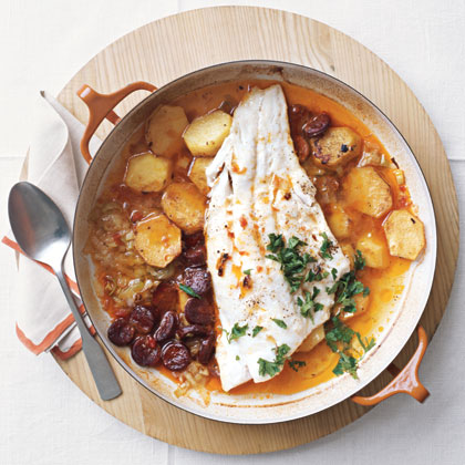 Baked Cod and Chorizo Recipe