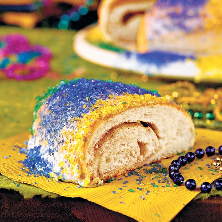 king cake recipe traditional king cake recipe myrecipes 5318