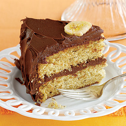 Chocolate-Covered Banana Cake