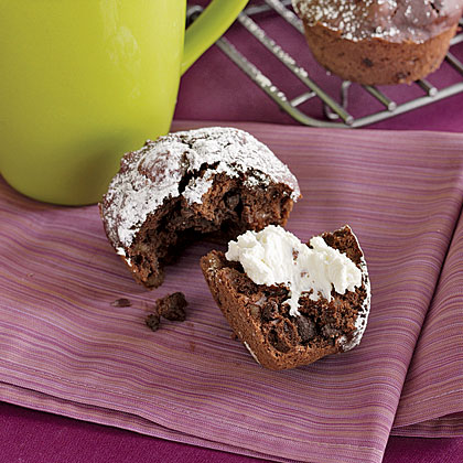 Cherry-Chocolate Muffins Recipe