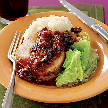 Fig-Stuffed Pork Loin Recipe