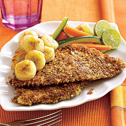 Jamaican Red Snapper with Pan-Fried Banana Recipe