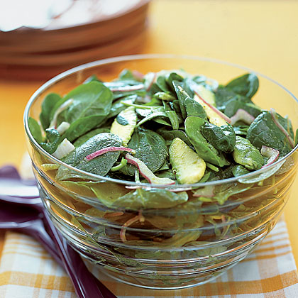 Spinach-and-Avocado Salad