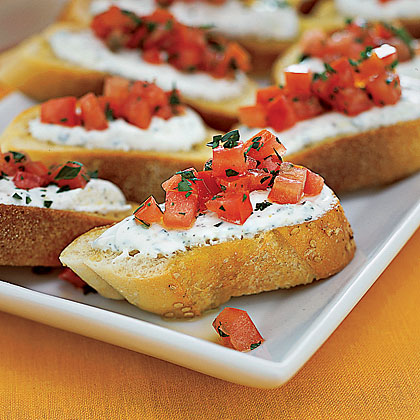 Cheese-and-Tomato ToastsRecipe
