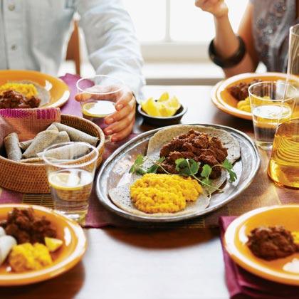 Beef Stew in Spicy Berbere Sauce