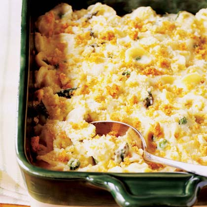 Spring Vegetable Macaroni 'n' Cheese Recipe | MyRecipes