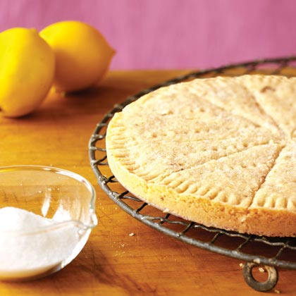 Lemon-Basil Shortbread