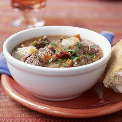 Hearty Beef and Potato StewRecipe