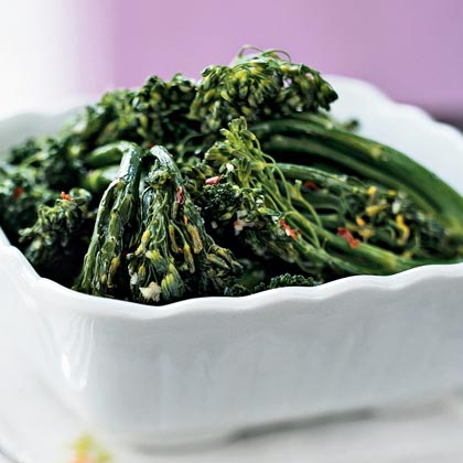 Ginger-Garlic Broccolini