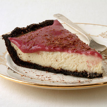 Chocolate-Berry Cream Pie