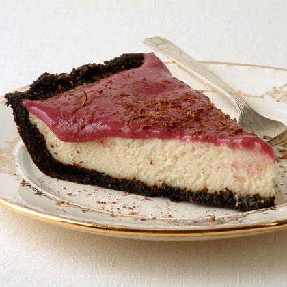 Chocolate-Berry Cream Pie Recipe