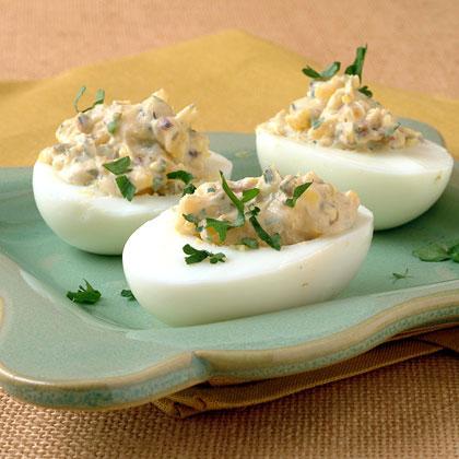 Provençal Deviled Eggs