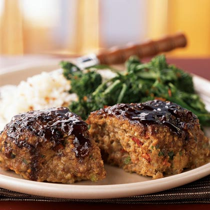 Asian-Style Meat LoavesRecipe