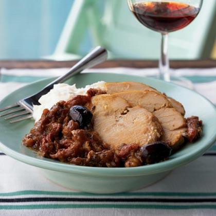 Mediterranean Roast Turkey