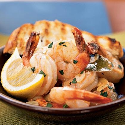 Spanish-Style Shrimp with Garlic Recipe