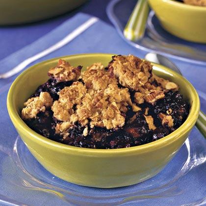 Blueberry-Almond CobblerRecipe