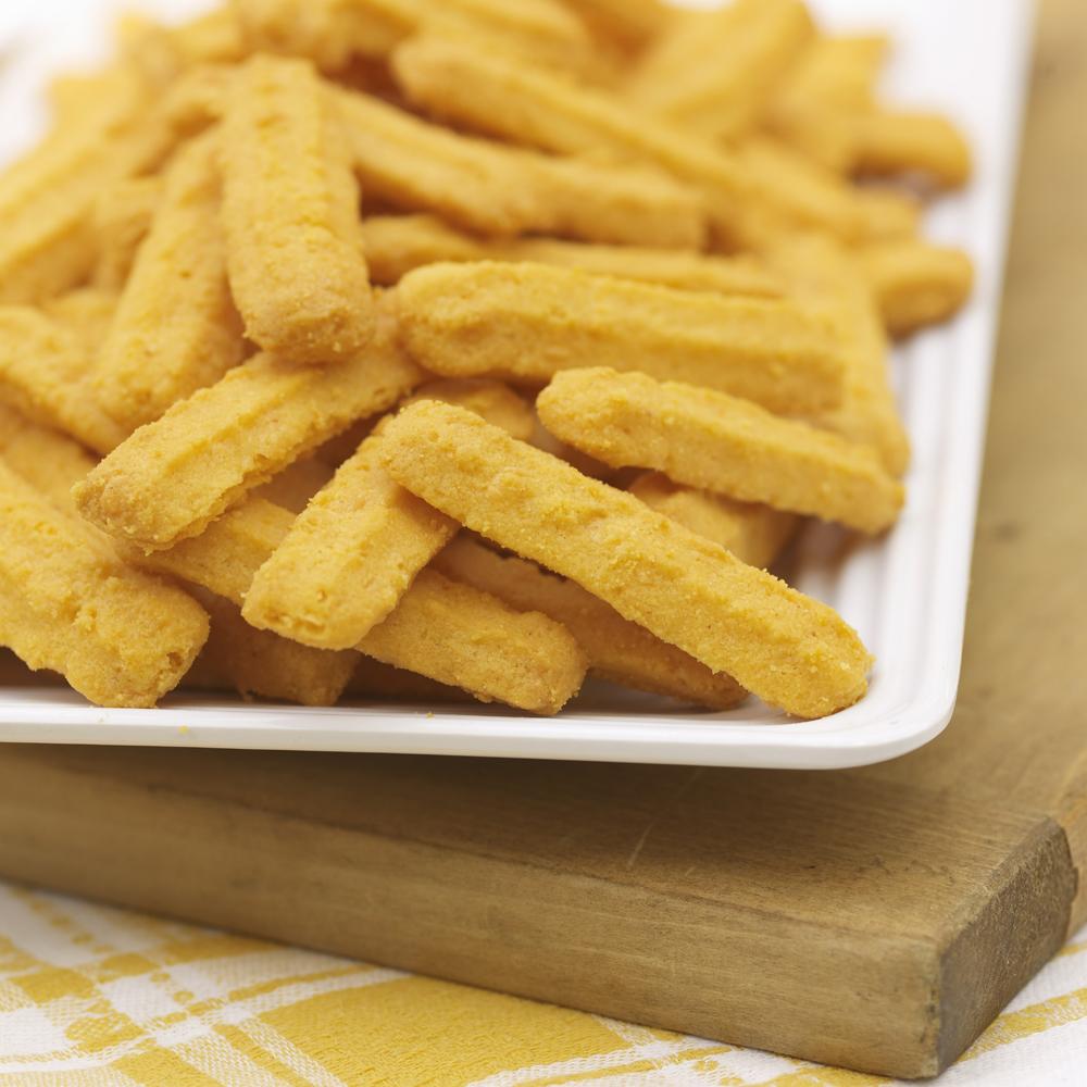 Cheddar Cheese Straws Recipe | MyRecipes