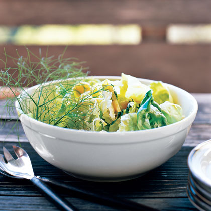 Butter Lettuce and Herb Salad Recipe