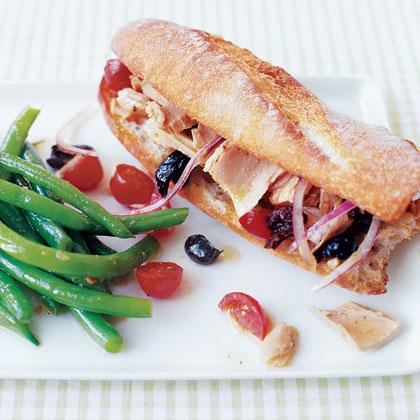 Salade Niçoise Sandwich